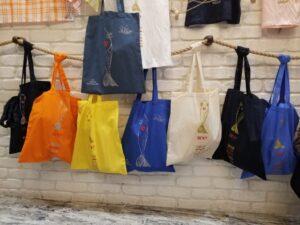 """Tote Bag """" La Frétillante """""""